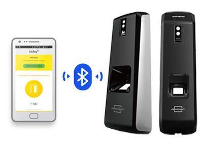 Biometricos: Control de accesos dactilar Bluetooth Nitgen T1