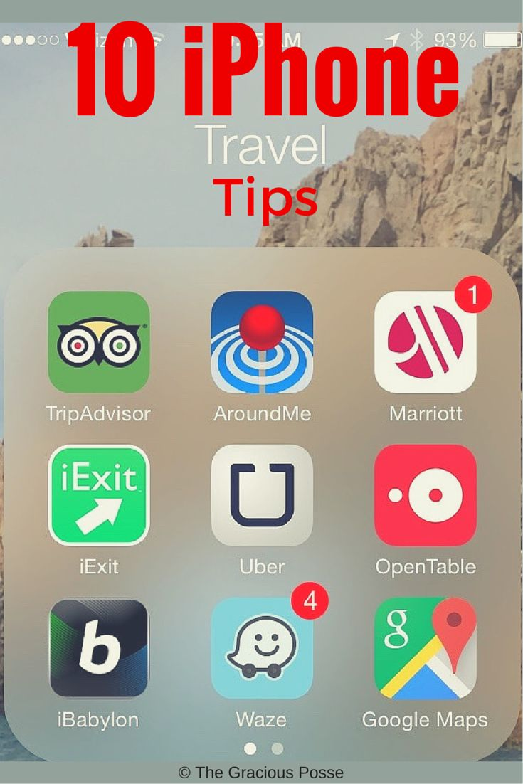10 iPhone Travel Tips