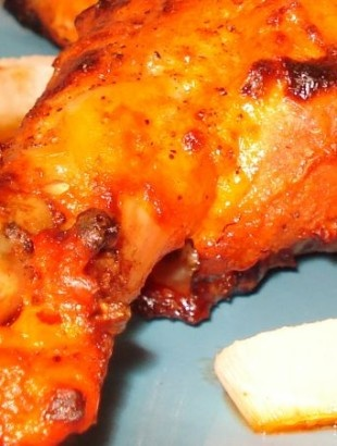 Chicken Tandoori: Juicy, roasted... a perfect combination of taste and health!