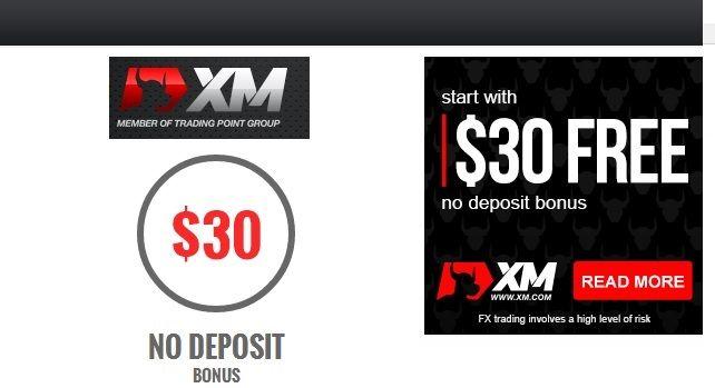 XM NO DEPOSIT BONUS PROMOTION $ 30 FREE ACCOUNT