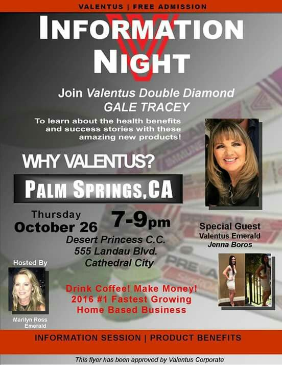 ☆☆☆☆ ATTENTION PALM SPRINGS, CA AREA!☆☆☆   Here's your chance to join us for great info session, product tasting and more!  P.M. me for more details! Also in wishing to join my team either before of after this great event!   WHO DO YOU KNOW IN THE PALM SPRINGS AREA? $100 in Door prizes and Product Tastings!! 😎