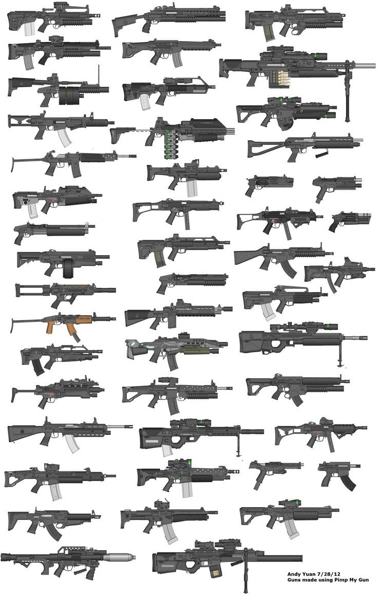 Rifles by Pimp My Gun 15 by c-force.deviantart.com on @deviantART