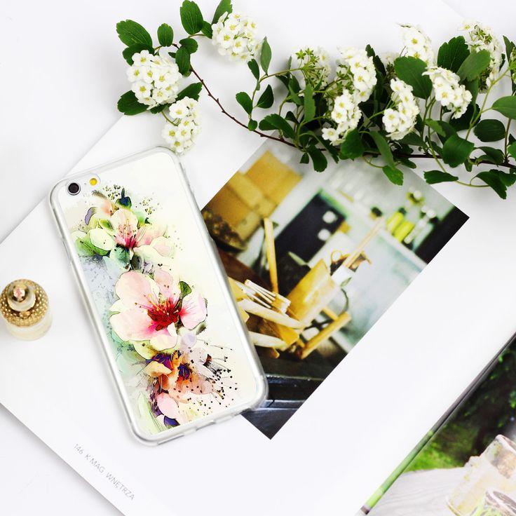 Kwiatowe etui z kolekcji Fantastic Case #etuo #case #floral  www.etuo.pl