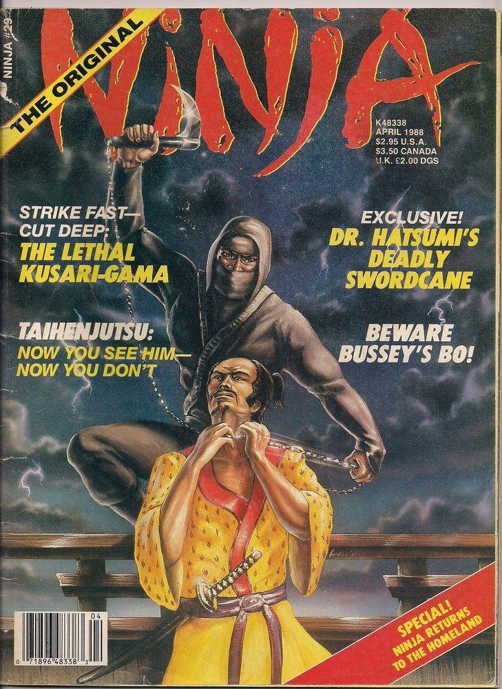 Ninja magazine # 29 ninjutsu ninpo hatsumi hayes bujinkan ...