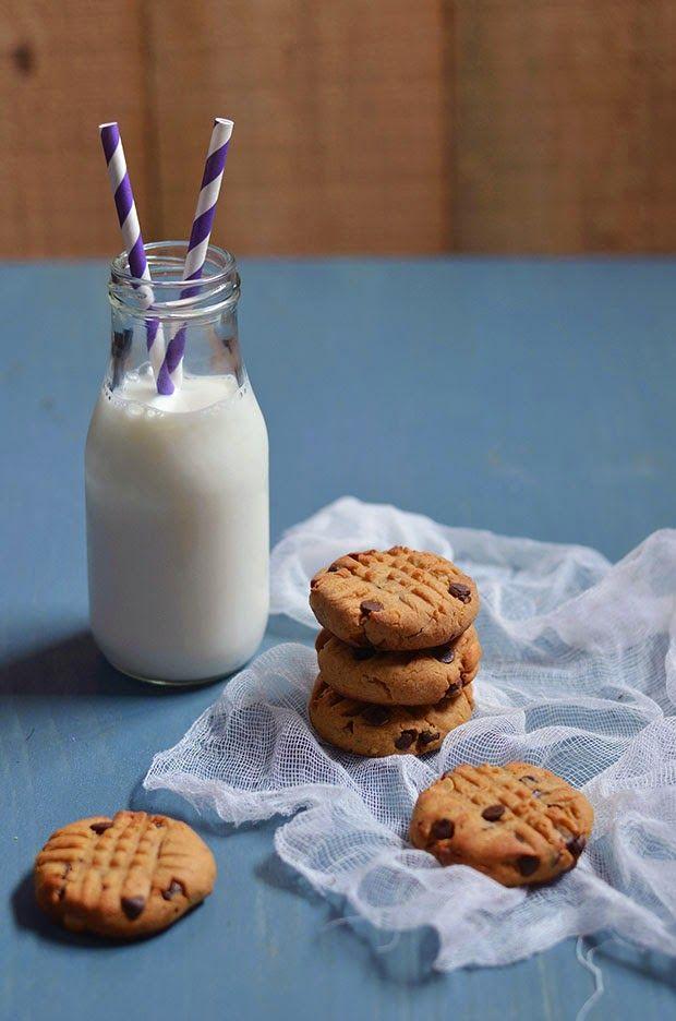 Ananás e Hortelã: Cookies de Amendoim e Chocolate