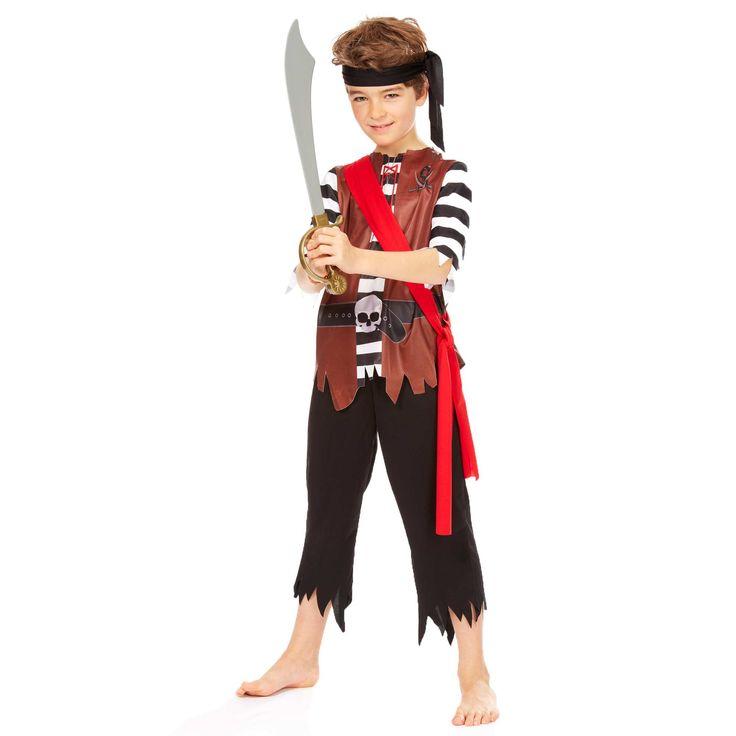 Famoso Oltre 25 fantastiche idee su Costume bambini pirata su Pinterest  RH37