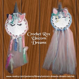 Adorned with feathers, ribbons and buttons, this adorable sleepy unicorn is ready to catch whispers of magic and take you on a fabulous adventure in your dreams. Perfect gift for a baby girl, or a full grown one. Use the code sweetdreams to get $1.50 off thru Nov 24th.