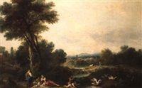 Paesaggio by Francesco Zuccarelli