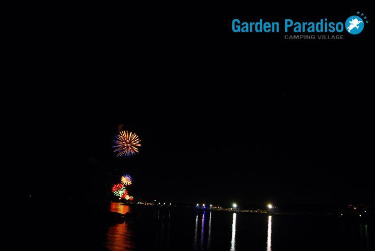 Feuerwerk, Cavallino Venedig - Camping Garden Paradiso Sommer 2014