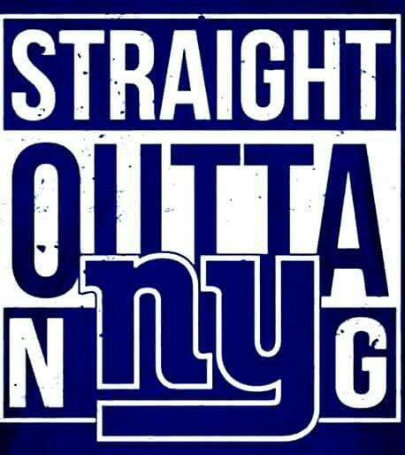 Straight Outta New York Giants                              …