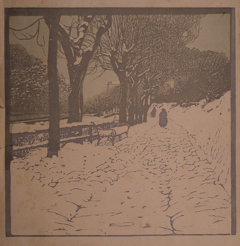 """Winter (Hohe Warte in Vienna),"" 1902, Carl Moll"