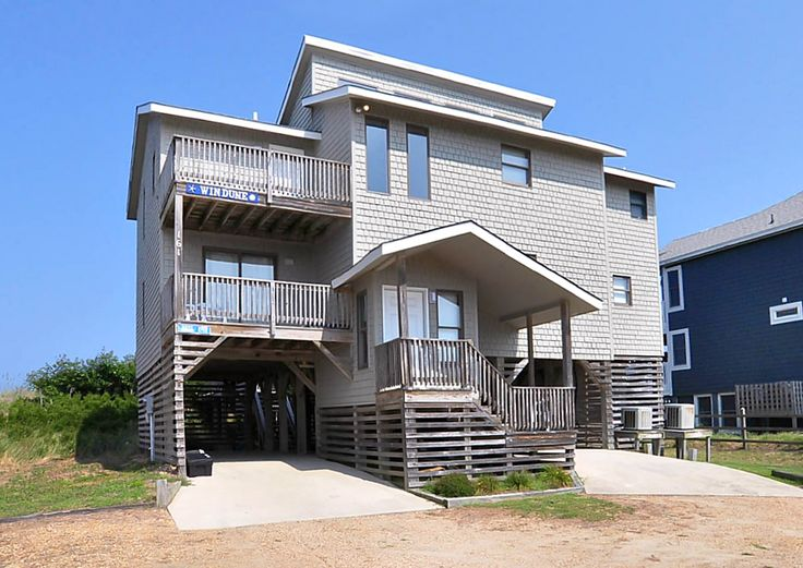 Windune - B375 is an Outer Banks Oceanfront vacation rental in Poteskeet Duck NC that features 5 bedrooms and 4 Full bathrooms. This rental has wifi among many other amenities. Click here for more.