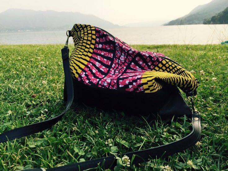 Sun Kissed bag enjoying the view