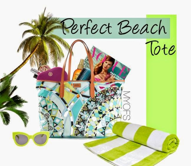MYOFS: Perfect Beach Tote See where to buy and how much