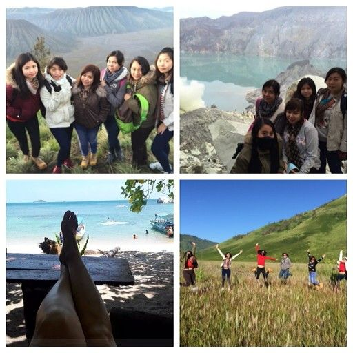 Open trip for Bromo,blue fire  and belitung hoping island