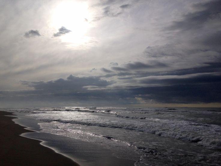 Viareggio #Versilia #beach #winter #sea