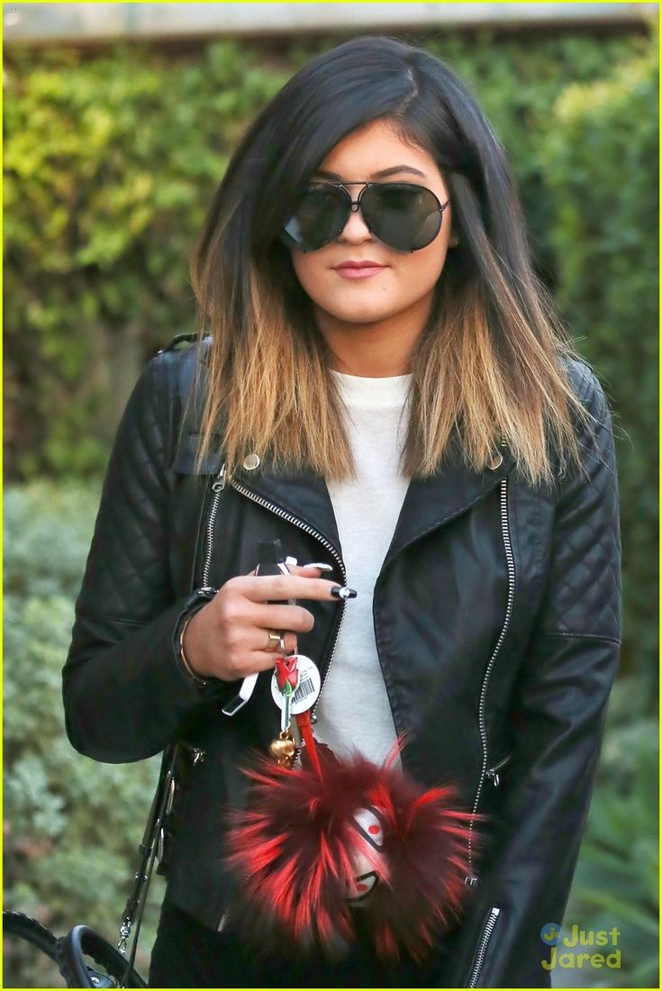 See Kylie Jenner's New Ombre Hair! | kylie jenner new ombre hair 01 - Photo