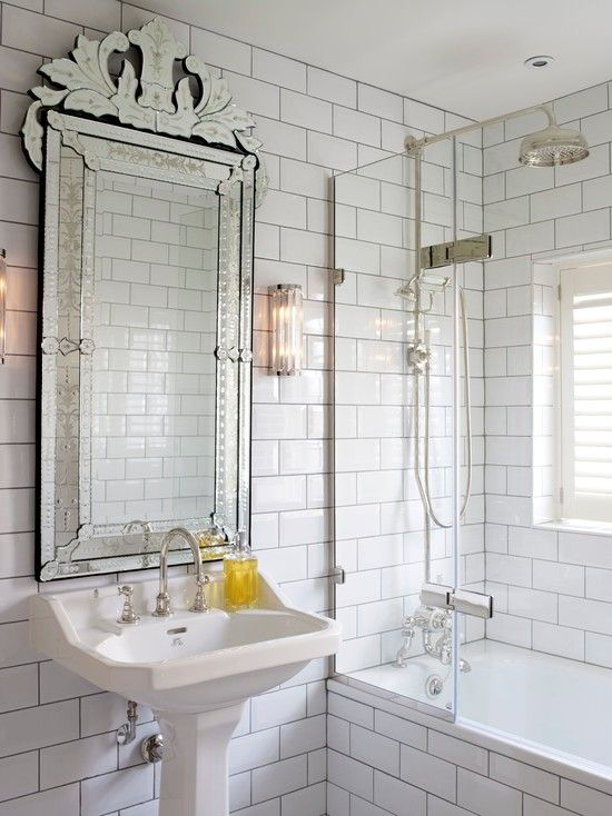 Gorgeous Ornate Bathroom Mirrors Image Decor In Transitional Design Ideas With Window Glass Shower Door Medicine Cabinet