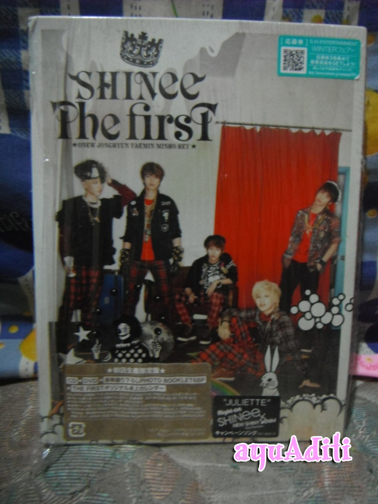 [album] SHINee - The First japan album Limited edition