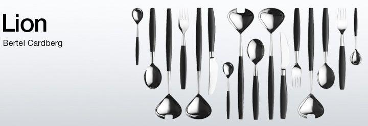 Lion cutlery Bertel Gardberg