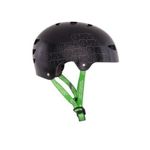 O'Neal ProFit Log BMX helmet Fidlock black (Size: 57-58 cm) BMX helmet by O'Neal. O'Neal ProFit Log BMX helmet Fidlock black (Size: 57-58 cm) BMX helmet. M.