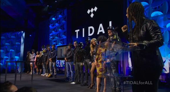 Jay Z, Beyoncé, Kanye, Arcade Fire, Daft Punk, Jack White, Nicki Minaj, Madonna, Rihanna y más, lanzan TIDAL.