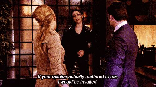 "She was brutally honest, something that doesn't happen very often on the Upper East Side. | Community Post: 10 Reasons Why Georgina Sparks Is The Best Character On ""Gossip Girl"""