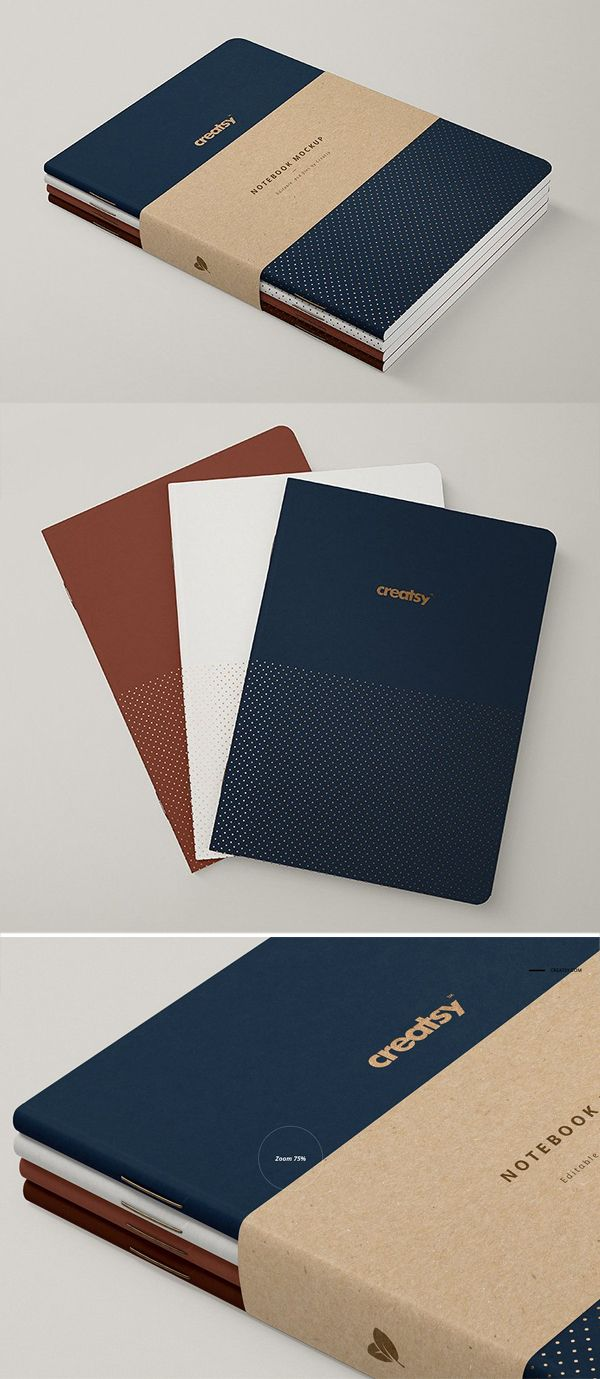 30 Best Mockup Templates Download For Realistic Commercial Presentation Design Graphic Design Junction Notebook Cover Design Mockup Templates Notebook Design
