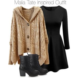 Teen Wolf - Malia Tate Inspired Outfit