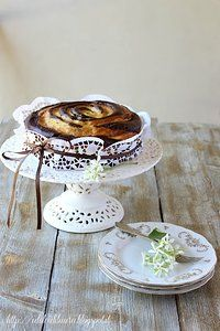 Torta al cacao & crema pasticcera