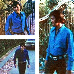 Elvis's home at 1174 n Hillcrest Road Beverly Hills ca 90210.