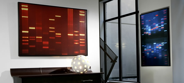 34 best for the home images on pinterest for Personalized dna art