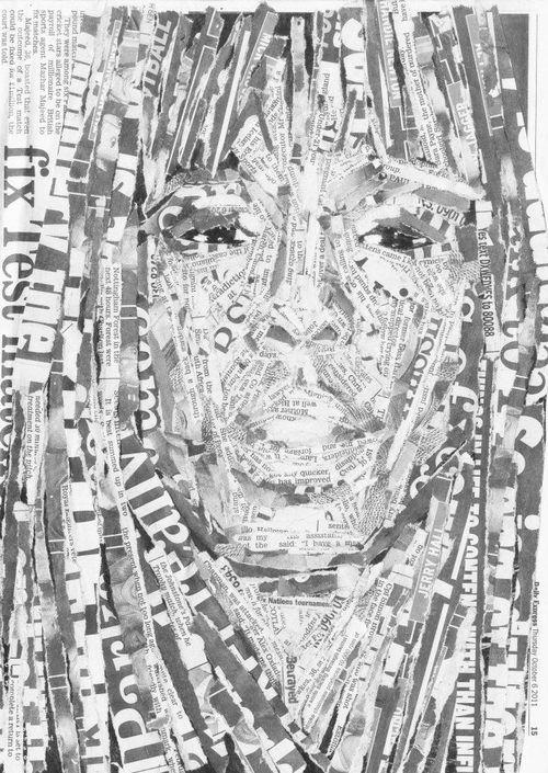 Face Portrait Martha Williams collage idea