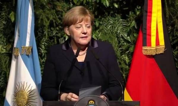 Presidente Mauricio Macri ofrece una cena de honor a la canciller Angela Merkel