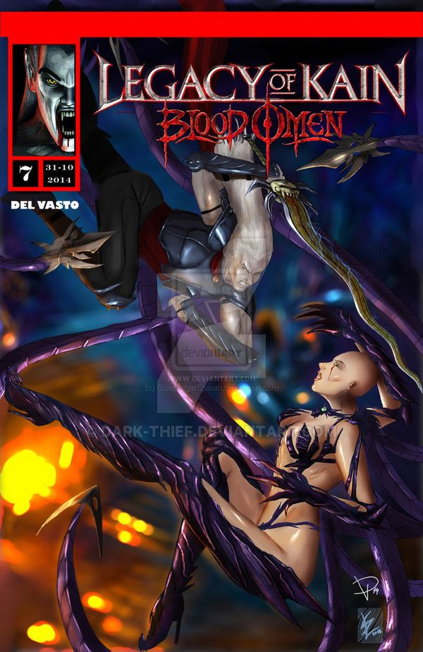 Legacy Of Kain Blood Omen Comics Issue 7 Ita Eng by Dark-thief.deviantart.com on @DeviantArt