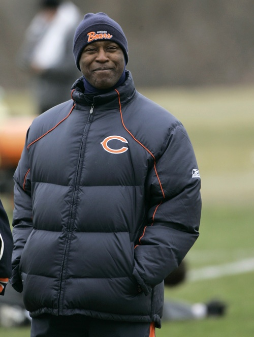 Lovie Smith - Chicago Bears - Head Coach