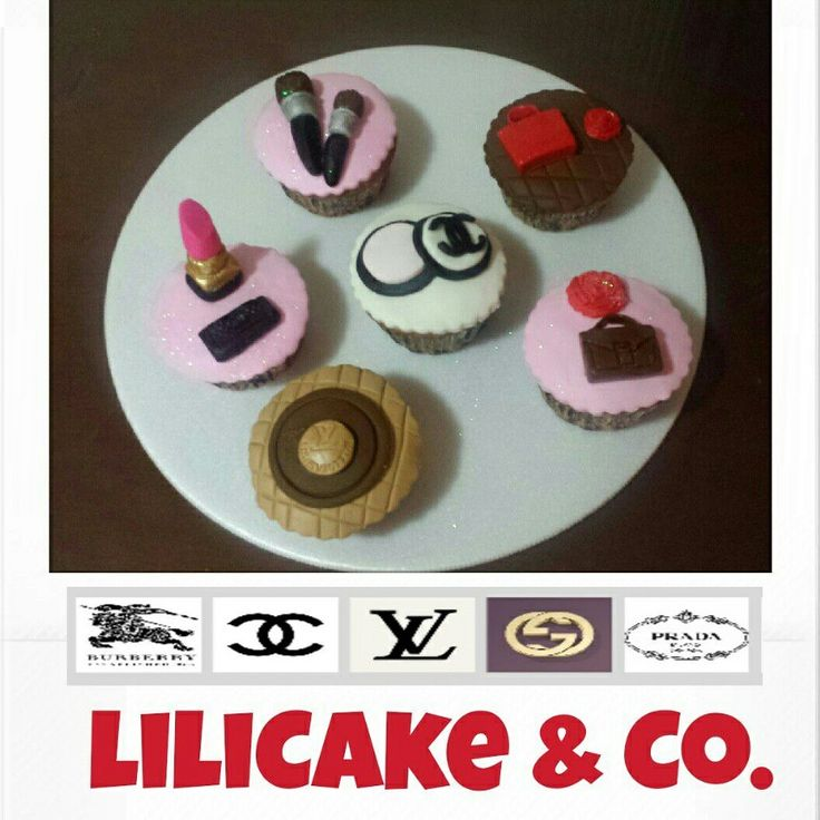 #fashion cupcakes