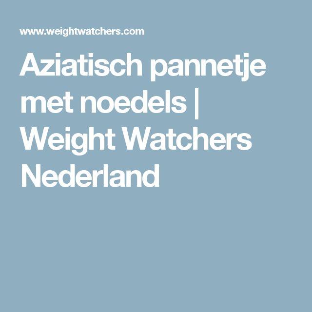 Aziatisch pannetje met noedels | Weight Watchers Nederland