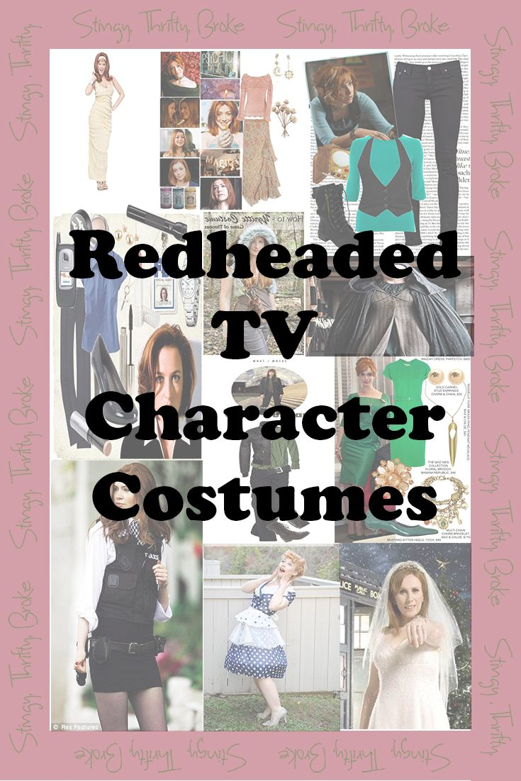 Check out the best redheaded tv character costumes for halloween!