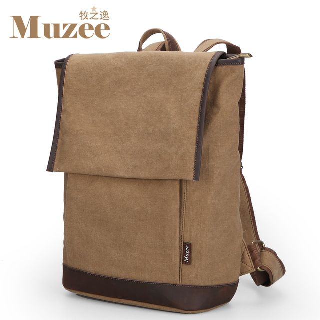 We love it and we know you also love it as well 2017 New Muzee men's school backpack casual canvas travel back pack vintage daypack rucksack mochila masculina ME9090 just only $31.36 with free shipping worldwide  #backpacksformen Plese click on picture to see our special price for you