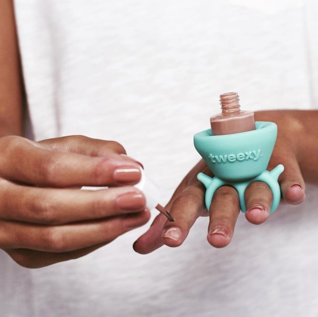 This Genius New Nail Polish Holder Makes Painting Your Nails SO Much Easier  - Seventeen.com