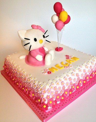 Tortas de Hello Kitty
