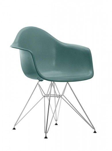 Fauteuil eames dar coque de l 39 assise coque d assise en for Coque chaise eames