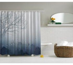 Leaveless Tree Shower Curtain