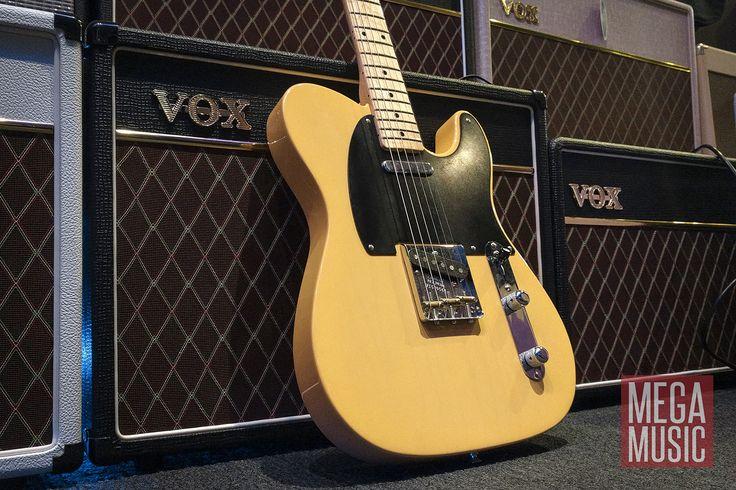 Fender American Vintage '52 Telecaster in delicious Butterscotch  #fender #tele #fendertele #telecaster #fendertelecaster #fenderamericanvintage #fenderguitar #fenderelectricguitar #fenderguitars #fenderelectricguitars #guitar #electricguitar #guitars #electricguitars #guitarporn #americanvintage #megamusic #megamusicmyaree