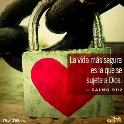 Salmos 91:2 Diré yo a Jehová: Esperanza mía, y castillo mío; Mi Dios, en quien confiaré. ♔
