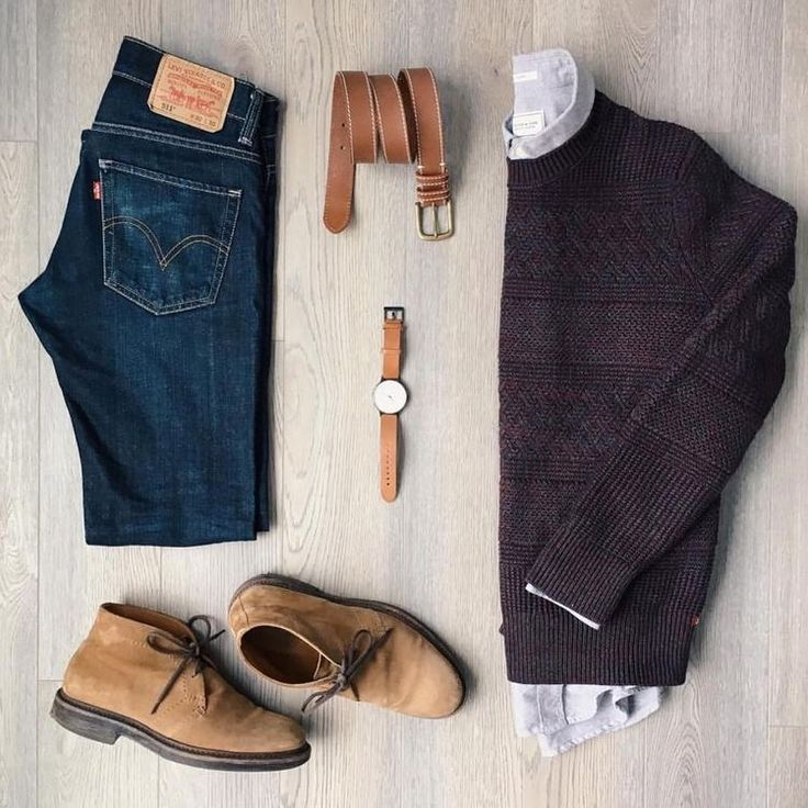 See adding tan/cognac /light brown accessories brings out the rest of the outfit, do that with a suit also you got a winning outfit for work or play ☺na