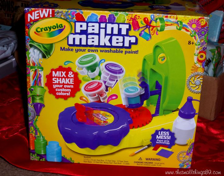 The Crayola Paint Maker makes the perfect gift!