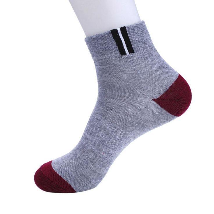 Men Comfort Warm Sport Socks Winter Running Socks Men Cotton Splice Sock Calcetines Ciclismo #EW