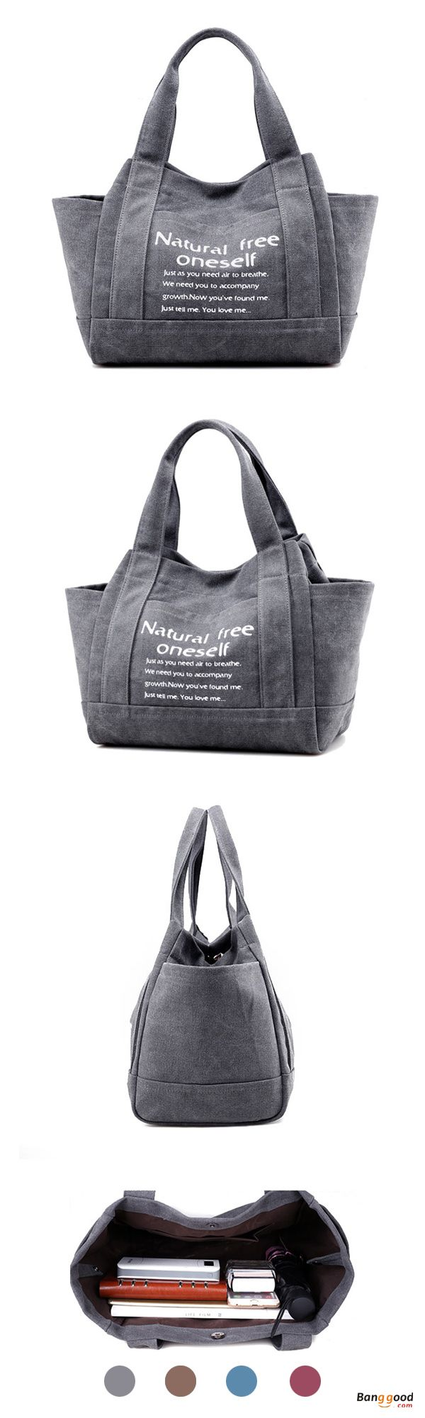US$25.73+Free shipping. Women Bags, Tote Handbags, Shoulder Bags, Shopping Bags. Casual, Canvas, Large Capacity. Color: Coffee, Purple, Gray, Blue. Shop now~